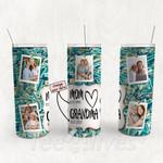 Personalized Photo Tumbler - Photo Collage Tumbler - Custom Travel Mug - Gift For Mom And Grandma 98