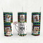 Personalized Photo Tumbler - Photo Collage Tumbler - Custom Travel Mug - Gift For Mom And Grandma 106