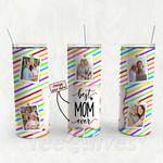 Personalized Photo Tumbler - Photo Collage Tumbler - Custom Travel Mug - Gift For Mom And Grandma 108