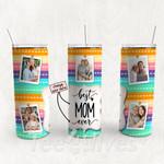 Personalized Photo Tumbler - Photo Collage Tumbler - Custom Travel Mug - Gift For Mom And Grandma 113