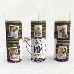Personalized Photo Tumbler - Photo Collage Tumbler - Custom Travel Mug - Gift For Mom And Grandma 117