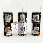 Personalized Photo Tumbler - Photo Collage Tumbler - Custom Travel Mug - Gift For Mom And Grandma 118