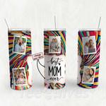 Personalized Photo Tumbler - Photo Collage Tumbler - Custom Travel Mug - Gift For Mom And Grandma 119