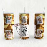 Personalized Photo Tumbler - Photo Collage Tumbler - Custom Travel Mug - Gift For Mom And Grandma 121