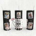 Personalized Photo Tumbler - Photo Collage Tumbler - Custom Travel Mug - Gift For Mom And Grandma 122