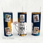 Personalized Photo Tumbler - Photo Collage Tumbler - Custom Travel Mug - Gift For Mom And Grandma 124