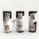 Personalized Photo Tumbler - Photo Collage Tumbler - Custom Travel Mug - Gift For Mom And Grandma 125