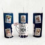 Personalized Photo Tumbler - Photo Collage Tumbler - Custom Travel Mug - Gift For Mom And Grandma 128