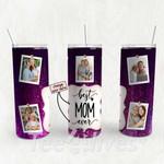 Personalized Photo Tumbler - Photo Collage Tumbler - Custom Travel Mug - Gift For Mom And Grandma 132