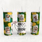 Personalized Photo Tumbler - Photo Collage Tumbler - Custom Travel Mug - Gift For Mom And Grandma 153