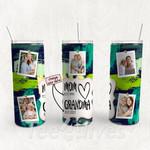 Personalized Photo Tumbler - Photo Collage Tumbler - Custom Travel Mug - Gift For Mom And Grandma 160