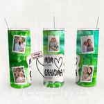 Personalized Photo Tumbler - Photo Collage Tumbler - Custom Travel Mug - Gift For Mom And Grandma 170