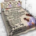Personalized Mother's Day Gift Custom Bedding Set Letter From Daughter To My Mom