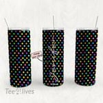 Personalized Name Tumbler - Name Collage Tumbler - Custom Travel Mug 68
