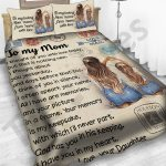 Personalized Mother's Day Gift Bedding Set Letter To My Mom From Daughter