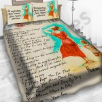Personalized Mother's Day Gift Custom Bedding Set Letter To My Mom From Son