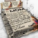 Personalized Mother's Day Gift Custom Bedding Set Letter To My Mom From Daughter