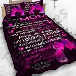Personalized Mother's Day Gift Custom Bedding Set To My Mom From Daughter