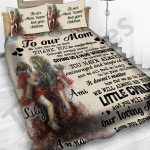 Personalized Mother's Day Gift Custom Bedding Set Letter To Our Mom From Daughters