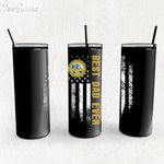 Custom Tumbler Best Dad Ever United State Department Of The Army - Custom Travel Mug - Gift For Dad