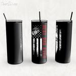 Custom Tumbler Best Dad Ever United States Marine Veteran - Custom Travel Mug - Gift For Dad