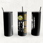 Personalized Father's Day Gift Custom Tumbler Dad And Son United State Department Of The Army - Custom Travel Mug