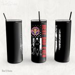 Personalized Father's Day Gift Custom Tumbler Dad And Son Never Forget A Disabled Veteran - Custom Travel Mug