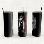 Personalized Father's Day Gift Custom Tumbler Dad And Son United States Marine Veteran - Custom Travel Mug