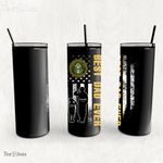 Personalized Father's Day Gift Custom Tumbler Dad And Son United States Army Veteran 1 - Custom Travel Mug