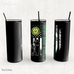 Personalized Father's Day Gift Custom Tumbler Dad And Son United States Army Disabled Veteran 1 - Custom Travel Mug