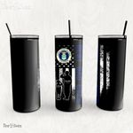Personalized Father's Day Gift Custom Tumbler Dad And Son United States Air Force Veteran 1 - Custom Travel Mug