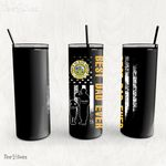 Personalized Father's Day Gift Custom Tumbler Dad And Son Proud To Have Served Veteran 1 - Custom Travel Mug