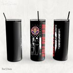 Personalized Father's Day Gift Custom Tumbler Dad And Son Never Forget A Disabled Veteran 1 - Custom Travel Mug
