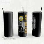 Personalized Father's Day Gift Custom Tumbler Best Dad Ever With Dog Department Of The Army - Custom Travel Mug
