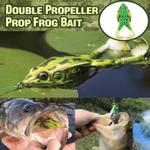 ⭐️Double Propeller Frog Soft Bait