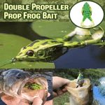 ✅Double Propeller Frog Soft Bait
