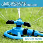 Free Shipping✨ 360-Degree Rotating Garden Sprinkler