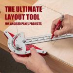 Adjustable Woodworkers Edge Ruler