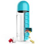 Pill Box Water Bottle