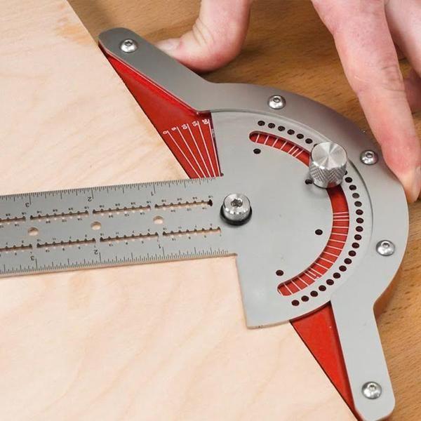 Adjustable Woodworkers Edge Rule