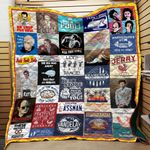 Seinfeld Quotes Collage Quilt Blanket