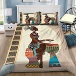 African Black Women Illustration Bedding Set (Duvet Cover & Pillow Cases)