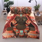 Black Women Cotton Bed Sheets Spread Comforter Duvet Cover Bedding Sets