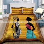 African Black Women High Quality Duvet Cover Bedding Set