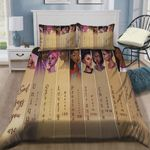 Black Women God Says You Are Strong Lovely Cotton Bed Sheets Spread Comforter Duvet Cover Bedding Sets