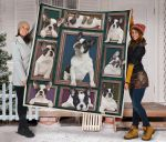 Boston Terrier Awesome Boston Terrier Nice Dog Pictures Quilt Blanket Great Customized Blanket For Birthday Christmas Thanksgiving Anniversary