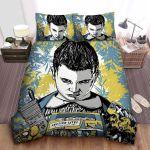 Stranger Things Eleven Sketch Drawing Bed Sheets Spread Comforter Duvet Cover Bedding Sets