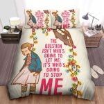 Stranger Things Cute Eleven Drawing & Quote Bed Sheets Spread Comforter Duvet Cover Bedding Sets