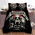 Metallica We Don't Give A Shit Bed Sheets Spread Comforter Duvet Cover Bedding Sets