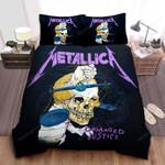 Metallica Damaged Justice Bed Sheets Spread Comforter Duvet Cover Bedding Sets